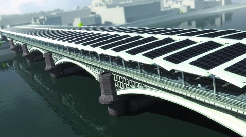 World's Largest Solar Bridge Makes Britain's Biggest Brew