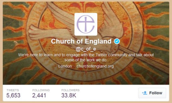Church of England Issue 9 Social Media Commandments