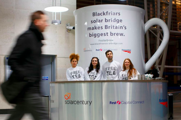 #Solarbrew – Celebrating the World's First Solar Bridge