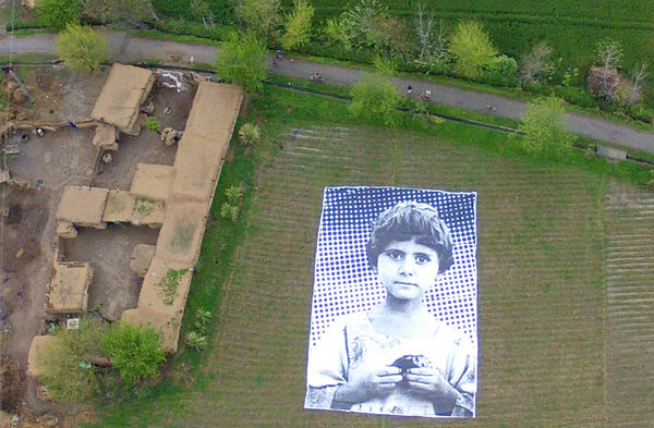 Giant Photo of a Girl is Supposed to Make Drone Pilots Quit