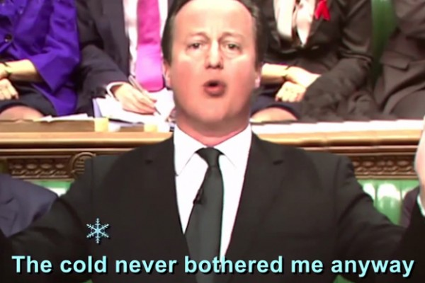 Cross-party Frozen Karaoke Exposes Cold Truth About British Homes