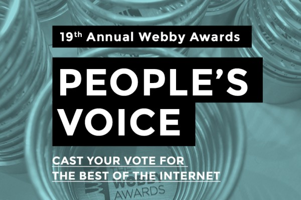 VOTE NOW: Don't Panic nominated for Webby Awards 2015