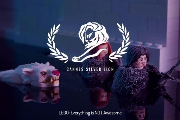 LEGO: Everything is Not Awesome wins Cyber Lion at Cannes