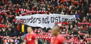 supporters not customers